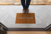 welcome mat for intercom page